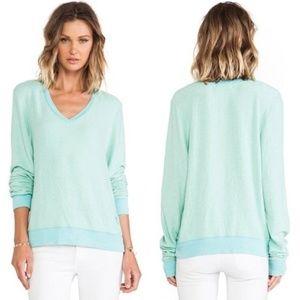 Light Blue Wildfox sweater